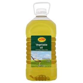10 litres KTC Veg or Sunflower oil - 2 x 5l for £8 at Asda