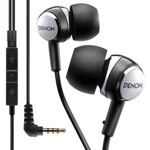 Denon AHC260R in-ear headphones with in-line remote £13.99 Sold by home AV direct and Fulfilled by Amazon