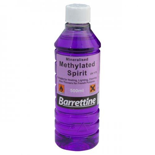 500ml Methylated spirit (camping fuel/DIY - typically £3-4) - £1.60 @ B&M