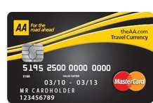 Free AA Travel Prepaid Card £9.95 or free if you load £100+
