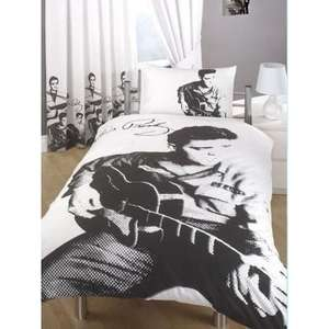 Elvis Presley Bedding Duvet Cover Set for £14.95 @ Universal Textiles