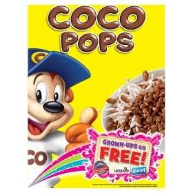 Kelloggs Coco Pops 550g at Asda instore and online 4 for £5