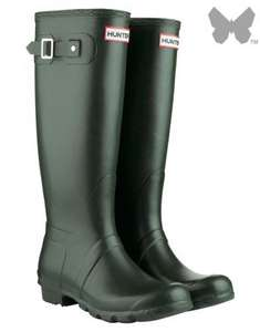25% Off Hunter Original Tall Wellington Boots at Country Attire - Various Colours & Sizes £55.54 with code