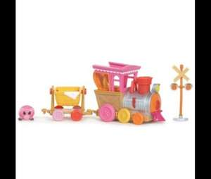 MGA Entertainment Mini Lalaloopsy Silly Pet Parade Motorised Train reduced from £15.00 to £5.00 plus £2.99 delivery at Tesco