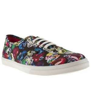 Womens Vans Authentic Lo Pro Vi Jewel Trainers - SIZE 3 ONLY -was £48 now £19.99 with free delivery @ Schuh