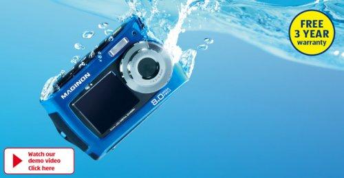 Maginon 8MP Waterproof Digital Camera £34.99 in Aldi