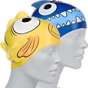 Speedo Sea Squad Character Swimming Cap Either Blue Shark Design Or Yellow Fish Was £4.00 Reduced To 0.99p Instore @ Sainsburys (Basildon)