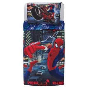 ** Spiderman Duvet Cover Set Single now £7 @ Tesco Direct **