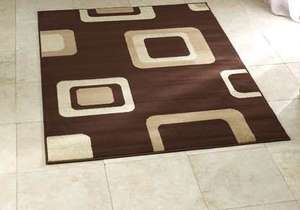 Diamond Brown Budget Rug 160  x 220 cm £37.79 @ wayfair.co.uk (4% TCB) - free delivery over £40 (add extra low value item)