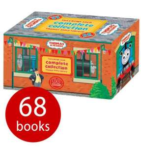 The Complete Thomas Library - 68 Books ONE DAY ONLY Our price £20.00 RRP £203.99 @ The Book People Free Delivery and 10% off making this just £18