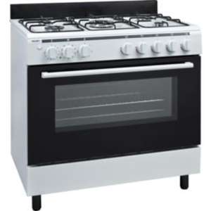 Bush AG96R Single Gas Range Cooker - White @ Argos £299.99 + £8.95 Home delivery  was £449