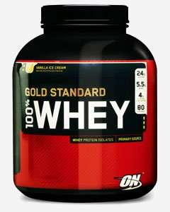 Optimum Nutrition 100% Gold Standard Whey Protein 2.27kg - Lots of Flavours - The Nutri Centre - (poss. £35.42 after code & cashback) £41.67 @ nutricentresports