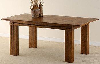 Tokyo Brown Teak Solid Teak Mango 6ft x 3ft Dining Table  Was £ 671.52 now £ 199.00 delivered by Oakfurnitureland