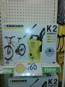 Karcher K2 Compact Power Washer Was £80 then £67 now £60 in store at Wilkinsons.