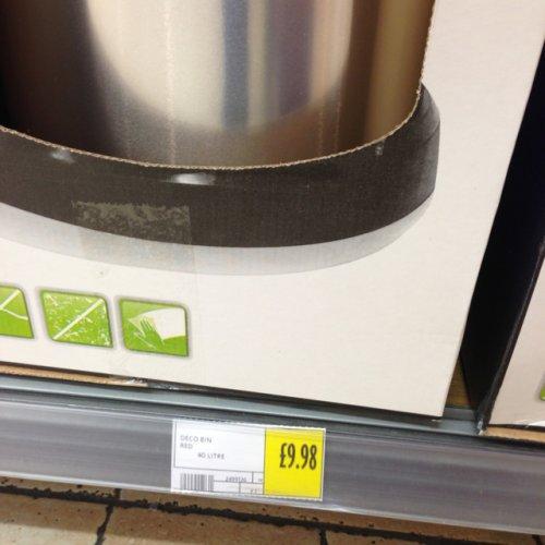 Curver Deco Bin 40L £9.98 @ Morrisons
