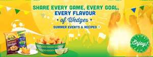 Free Brazilian Bowl with two purchases of Mccain Wedges 50p p&p