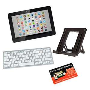 HANNspree 10.1 inch 16GB Quad Core Tablet with Accessory Bundle £135.98 @ Ideal World TV