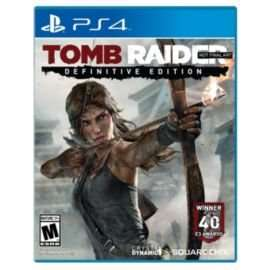 Tomb Raider Definitive Edition PS4/Xbox One - £25 with new code @ Tesco Direct