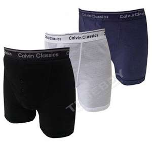 3-Pack 'Calvin Classics' Boxers @ B&M for
