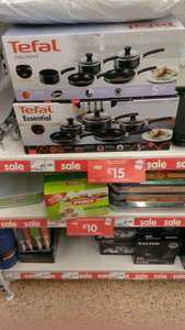 Tefal essential cookware 5 piece set for £15 @ asda