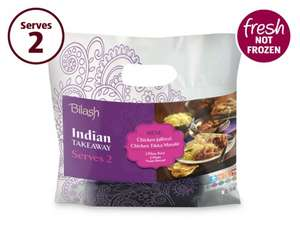 Bilash Microwave Indian Ready Meal For 2 £3.99 @ Aldi