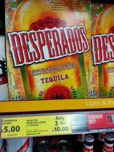 Desperados 9 bottles £10 @ Tesco