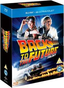 Back to the future BLU-RAY trilogy £8.99 at zavvi