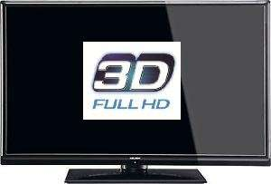 "Bush 32"" LED TV 3D Full HD (1080) Freeview With 8 Glasses - £180 Delivered - Electronic Empire"