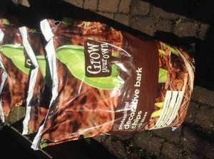 Asda Professional Decorative Bark Chips 70L Bags 3 for £10 or £4 each