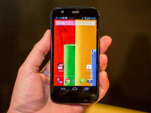 Motorola Moto G 8GB £16.99 PM possible £8.99 pm after cashback - Orange