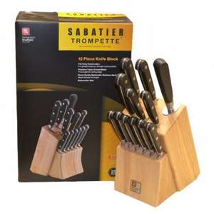 Sabatier Trompette 12 piece Knife Block by Richardson Sheffield £44.99 @ Robert Dyas