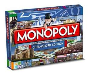 Monopoly Chelmsford Board Game £7.27 @ Amazon (free Delivery with prime/£10 spend)