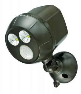 Mr Beams MB390 300-Lumen Weatherproof Ultra Bright Spotlight with Motion Sensor £21.02 @ Amazon