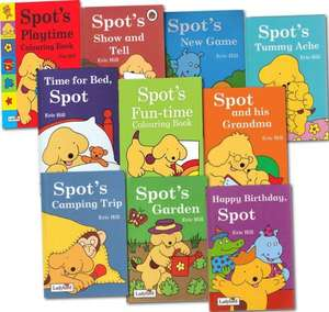Spot and Friend Collection 10-Books Set SPOT THE DOG BOOK SET £14.95 aMAZON