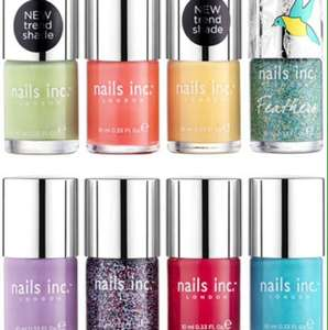 Nails inc colour collections - 8 full sized shades for £20 (RRP £88) - 4 to choose from!