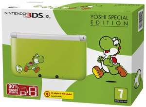 Nintendo 3DS XL [Yoshi Special Edition] - £127.99 @ Amazon.co.uk & GAME