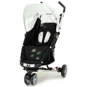 Argos: Petite Star Zia X 3 Wheeler Pushchair - Black and White, half-price and free home delivery - £69.99