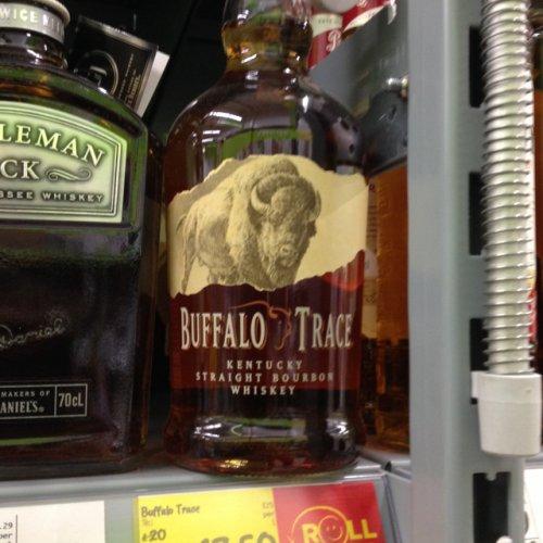 Buffalo trace bourbon £17.50 @ Asda
