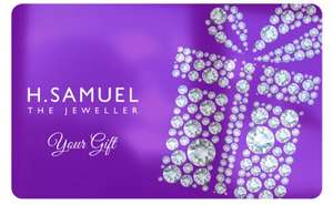 £20 H Samuel gift card for £12.50 at Bespoke Offers