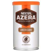 Nescafe Azera Americano 100g £2.49 and 60g £1.64 from Tesco Update: from 29.5.14 price change  2 x100g for £6