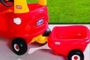 Little Tikes Cozy Coupe Trailer in Red or Pink £14.40 (with Code) @ Debenhams