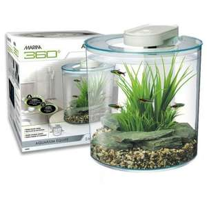 Marina 360 fish tank inc pump, led light & filter was £45 now £25 @ Pets at Home