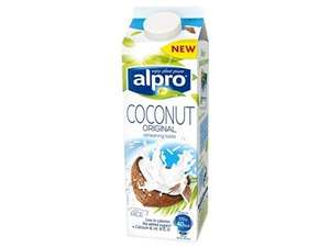 Alpro coconut milk 1Lt - 30p @ Tesco