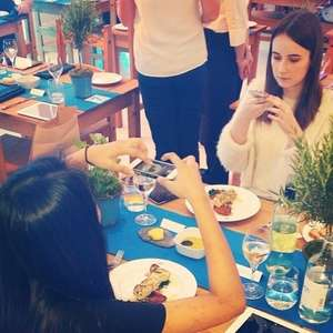 free meal at birds eye restaurant  - ice tank - london - pay by instagram photo