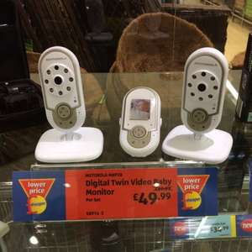 Motorola mbp 28 baby monitor - £49.99 @ Aldi