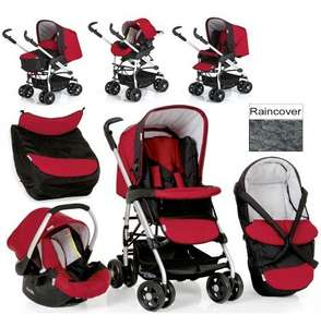 Hauck Eagle Soft Trioset - Travel System  Caviar - Tango - £149.99 Delivered @ Argos Online