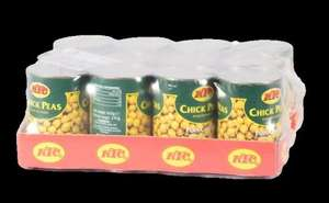 KTC Chick Peas tins 12x400g only £1.50 per case.  Works out at 12.5p per tin @ Morrisons