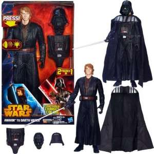 "STAR WARS - Anakin to Darth Vader 12"" Action figure @ Tesco Direct just £5.60!"