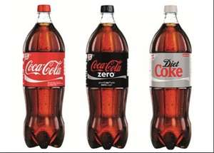 Coke 1.75 litre bottles (all varieties) £1 each @ Ocado - 63p via Quidco.com/ClickSnap cashback...