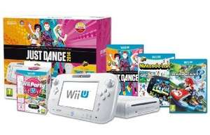 Wii U Basic, 2 Wiimotes with Nintendoland,  Just dance 2014, Wii party U, Mario Kart 8 and Choice of free game* - £199.99 @ Amazon